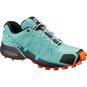Salomon Speedcross 4 Schoenen Dames, meadow brook/black/exotic orange